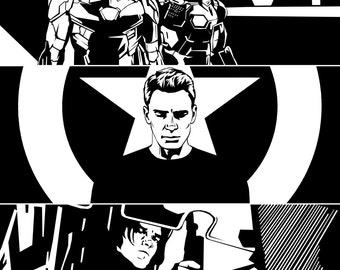 Civil War B&W