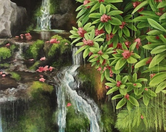 """Oil Painting- """"Oregonia"""" 32 x 28 inches"""
