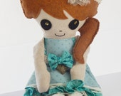 Edith Plush Art Doll Rag Doll
