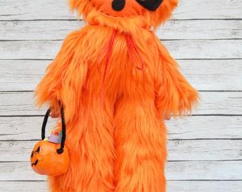 Plush Monster Halloween Art Doll Super Yeti