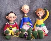 Elf Boys of the North Pole