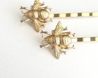 Bumblebee Hair Pins
