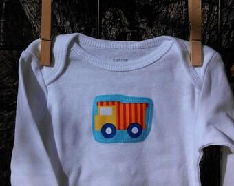 baby onesie, applique baby bodysuit, baby shower onesies