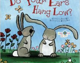 Signed Copy Do Your Ears Hang Low Illustrated by Andrea Doss Childrens Board Book Kids Book Gift for Babies