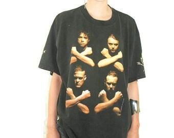 Vintage Metallica Tee 90s Metallica Metal Thrash Metal 90s tee Vintage Tee Vintage Shirt Rocker tee Thrash Slayer Big 4 Iron Maiden Megadeth