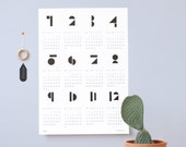 Graphical Calendar Toyblocks 2017 SNUG.TOYBLOCKS