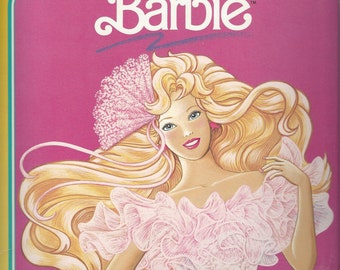 Barbie Deluxe Vintage Paper Doll, C1990