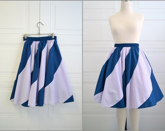 1980s Square Dance Circle Skirt