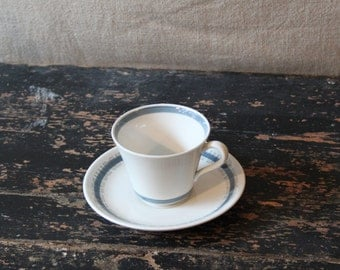 Rorstrand Sweden / Troja / Cup and saucer / Blue