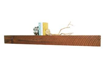 "Reclaimed wood fireplace mantel or floating shelf : 48""- 64"""