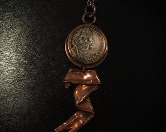 Hobo nickel pendant