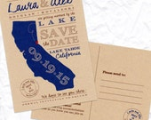 State It Save the Date Postcards