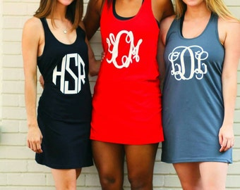 Monogram Cover Up - Memorial Day - Labor Day - Independence Day - July 4th