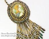 Crested Bird Pendant Necklace SALE