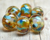 lampwork beads... SRA handmade, encased classic frits (buen camino) set for making jewelry MaDE tO oRDer