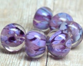 lampwork beads... SRA handmade, encased classic frits (jewels verne) set for making jewelry MaDE tO oRDer 100515-8