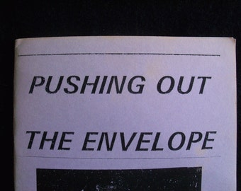 Pushing Out the Envelope--1992 chapbook by Tsaurah Litzky
