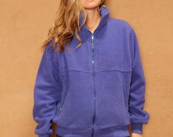 90s COLOR BLOCK blue womens REI ski fleece Jacket
