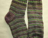 26,5 cm /// 10,4 inches Gorgeous Woolen Hand Knitted Socks-Perfectly keep heel - Unisex - US Men 8,5 /// US Women 10 /// EU 42