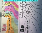 Bible Journaling Coloring Set  DIGITAL DOWNLOAD Bible Verse Printable (Set #2)