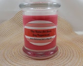 Soy Peppermint Container Candle