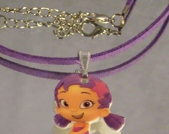 Bubble Guppies Oona Necklace - Cartoon Jewelry