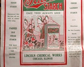 Vintage Fairies Starch Paper Sacks - Great Retro Laundry Room Decor