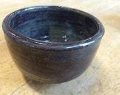 Small purple brown bowl