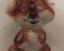 Cute Lion Vintage Figurine