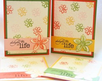 Set of 4 All Occasion Cards (Stampin' Up!)