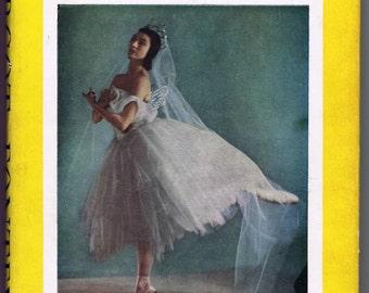 Antique Vintage Margot Fonteyn Book 1954 History Dance Ballet Theatre Photographs