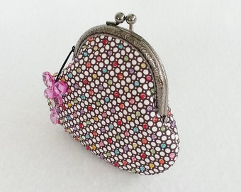 Colourful Beads Coin Purses