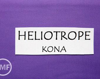 One Yard Heliotrope Kona Cotton Solid Fabric from Robert Kaufman, K001-477
