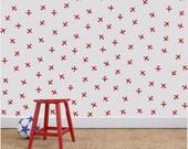 Wall Decal - Airplane stickers - Vinyl Wall Sticker Decal Art Pattern - custom wall art - custom - military decal - military planes