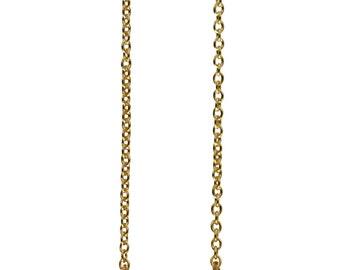 aqua aura sideways necklace