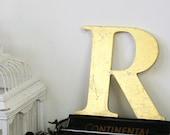 Original vintage letter, R