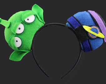 Alien Toy Mouse Ear Headband
