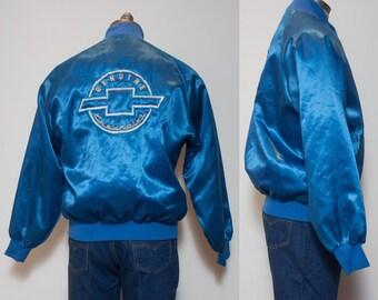 LRG | Men's Blue Windbreaker Chevy Jacket