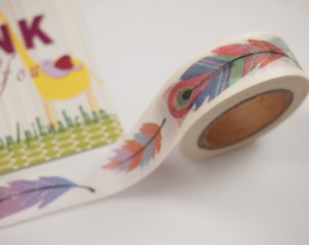 Feather Washi Tape (10M)
