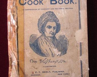 Neely's Popular Library December 1892 Martha Washington Cook Book