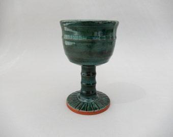 Wine Glass - Pottery Goblet