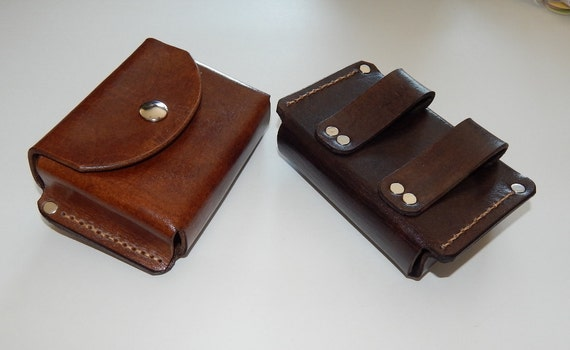 leather belt pouch made in usa great for hiking cing