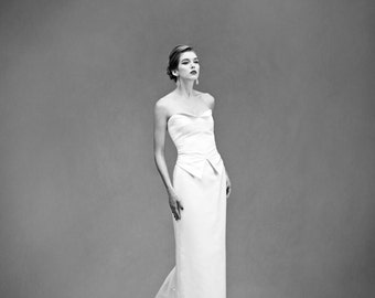 Stecchino Skirt – Custom Bridal Separates – Custom Wedding Dress – Bridal Couture by Jill Andrews Gowns