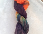 Hand Dyed Yarn - This is Halloween