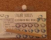 Sugar Skulls Nail Decals