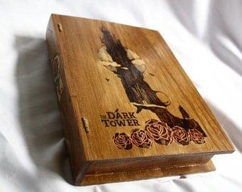 The Dark Tower Wooden Book Box