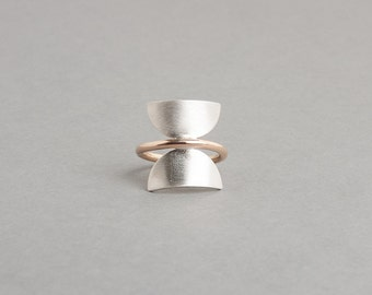 Mixed Metals Phase Ring | Voyager Collection from Haley Lebeuf