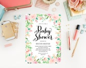 Spring Shower Baby Shower Invitation