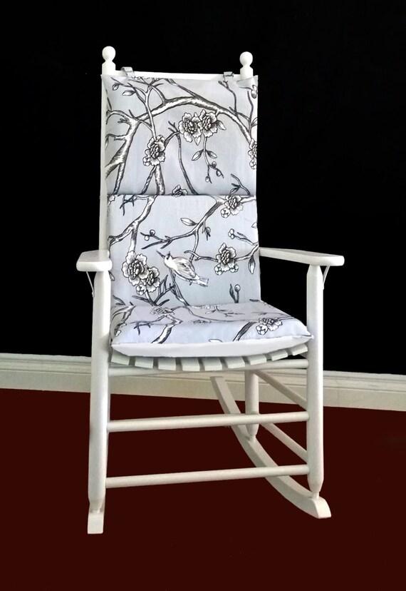 rocking chair cushion dwell studio vintage by rockincushions