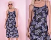 90s Daisy Print Dress